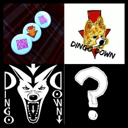 A Dingo Down Button, a Dingo Sticker and a Mystery Prize!
